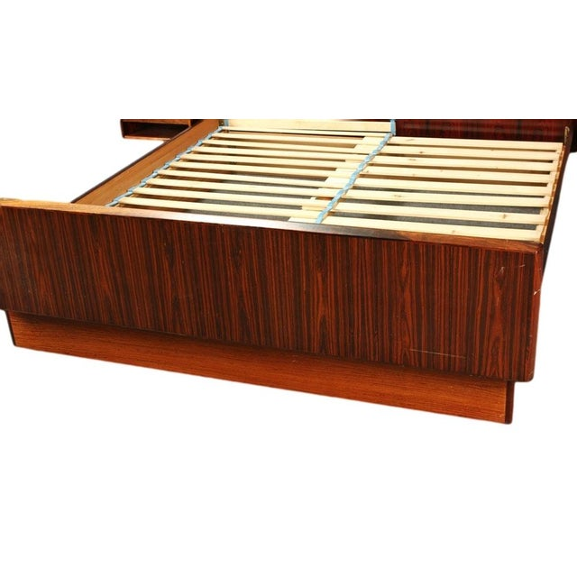 Sannemann Danish Rosewood Platform Bed - Image 3 of 6