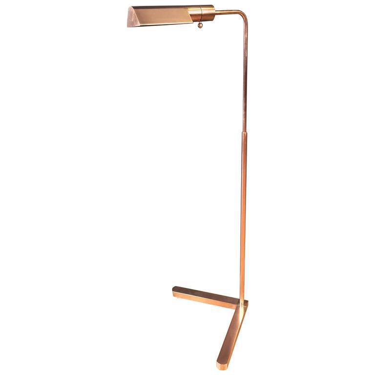 casella pharmacy copper floor lamp