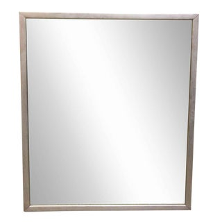 Nickel Framed Mirror
