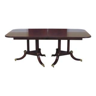 Henkel Harris Model #2276 Mahogany Dining Table