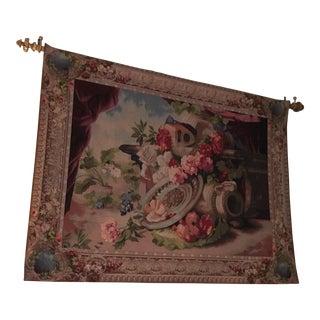Belgium Tapestry Still Life