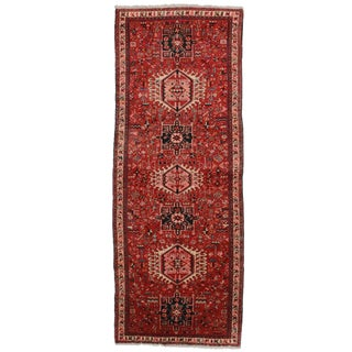 "Antique Persian Hariz Runner - 3'6"" X 9'1"""