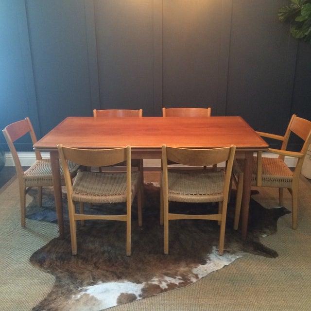 Danish Modern Dining Set - Image 2 of 11