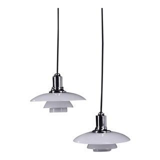 Mid-Century PH 2/1 Hanging Lamp by Poul Henningsen for Louis Poulsen
