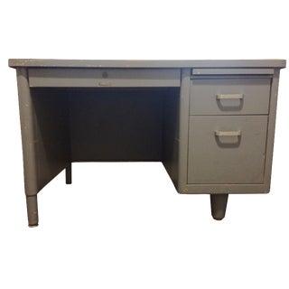 Vintage Blue McDowell & Craig Tanker Desk