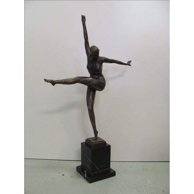 Duvernes Bronze Sculpture - Image 5 of 7