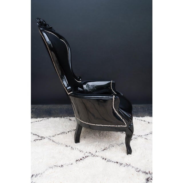 Luxe Regency King and Queen Chairs - Image 5 of 11