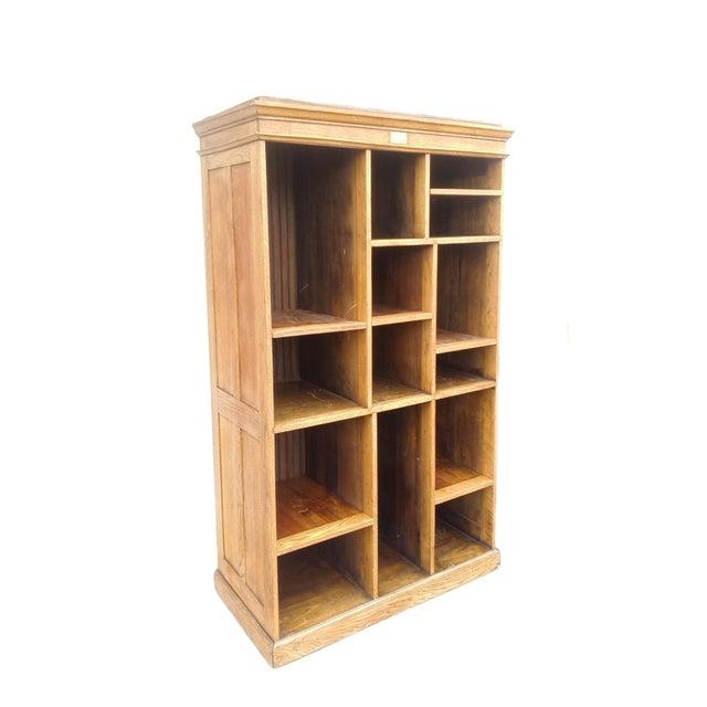 MCM Rustic Wood Book Shelf Storage Unit - Image 3 of 7