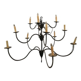 Curved Arm Chandelier