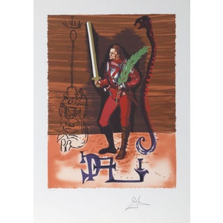 Salvador Dali Christopher Columbus Lithograph