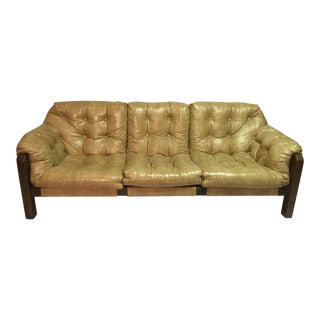Percival Lafer Mid Century Modern Sling Style Sofa
