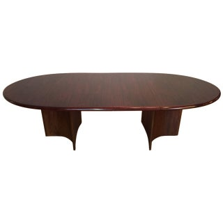 Danish Rosewood Expandable Dining Table