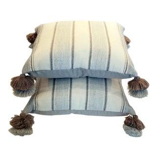 Organic Baby Alpaca Wool Pillows - A Pair