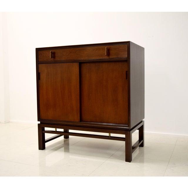 Edward Wormley for Dunbar Mahogany Cabinet - Image 2 of 9