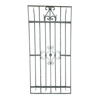 Antique Victorian Iron Gate Architectural Salvage