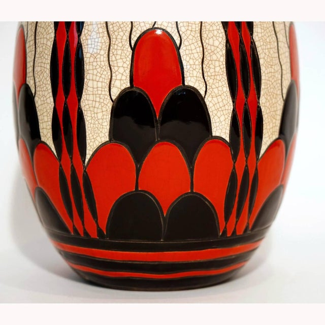 Charles Catteau Art Deco Vase D.1831 - Image 3 of 5