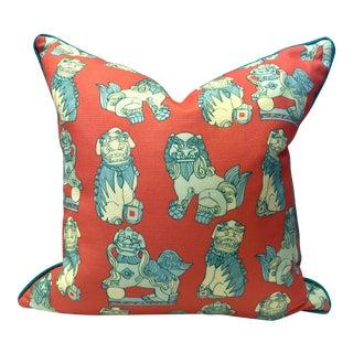 """Shishi"" Foo Dog Pillow"