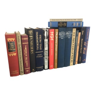 American & British History Books - Set of 17