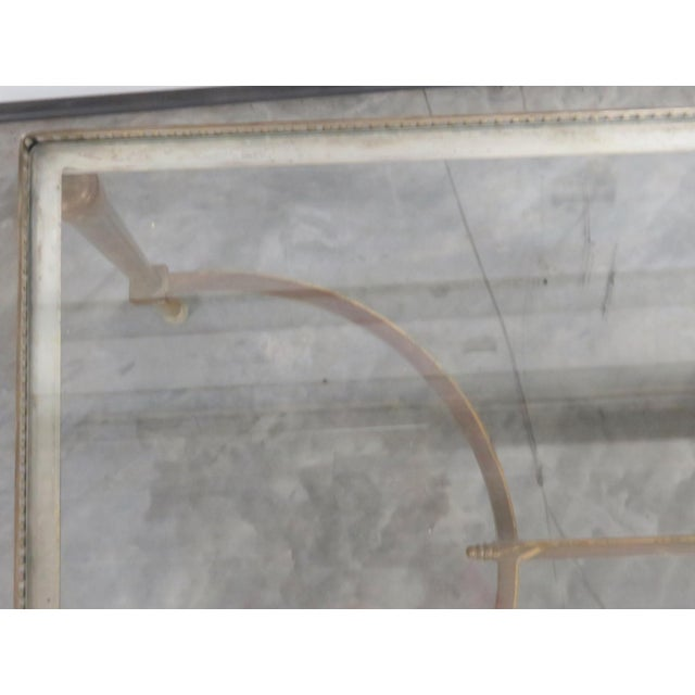 Jansen Directoire Style Glasstop Coffee Table - Image 6 of 6