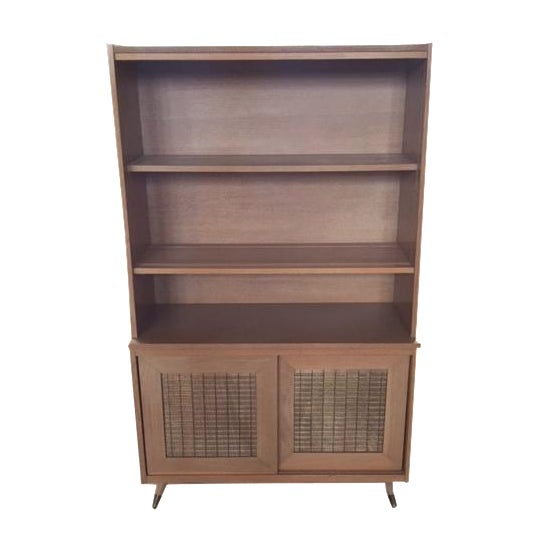 Image of Mid-Century Blonde Hutch