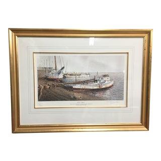 """Up for Repair"" Nautical Painting"