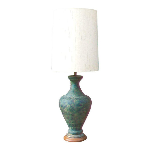 James Mont Style Ceramic Table Lamp - Image 1 of 3