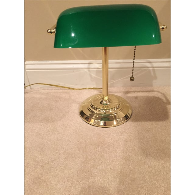 Retro Inspired Brass Desk Lamp - Image 4 of 7