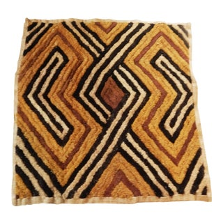Kuba Cloth velvet cut pile Raffia