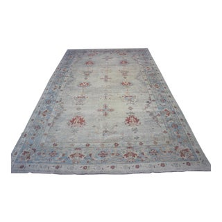 "Turkish Oushak Rug - 10'9"" x 17'9"""
