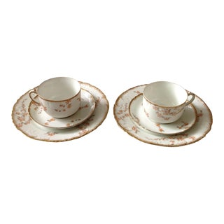 French Limoges Tea - 6 Pieces