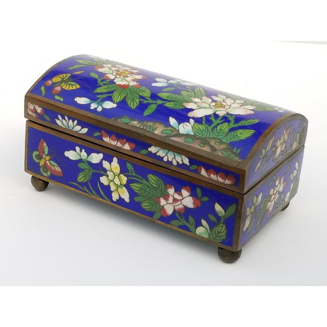 Antique Chinese Cloisonne Box - Image 11 of 11