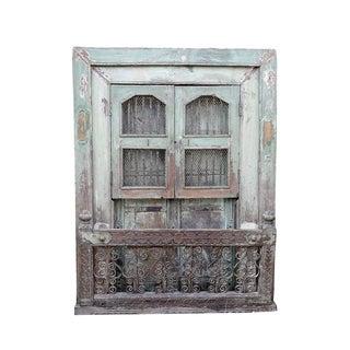 Antique Rustic Window Balcony