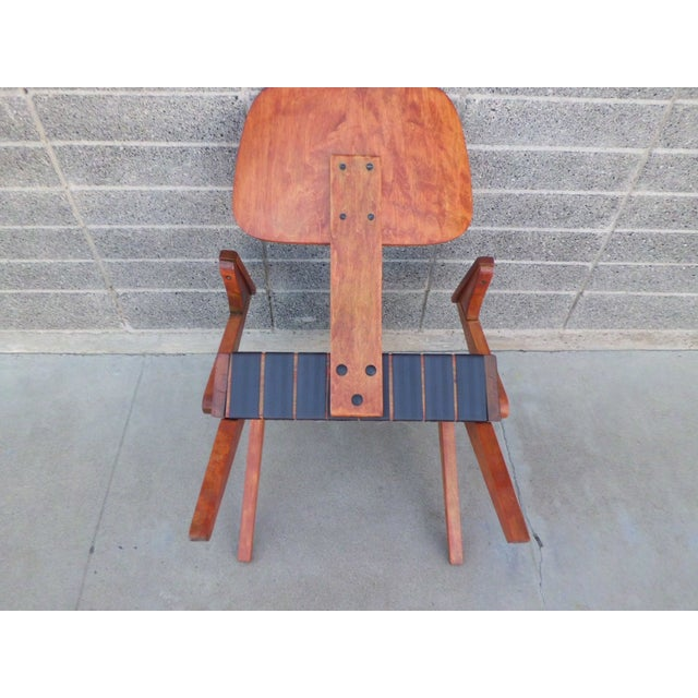 Russell Spanner Ruspan Original Lounge Arm Chair - Image 8 of 8