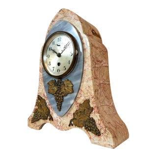 Stone Marble Clock