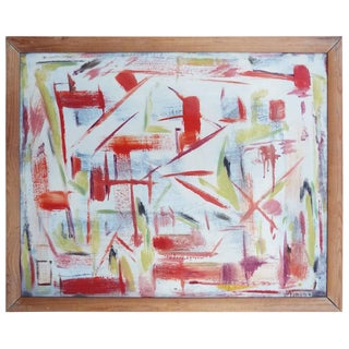 Bert Miripolsky Abstract Painting