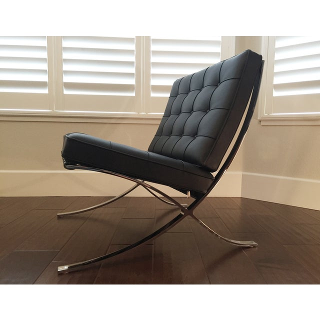 Brand New Authentic Knoll Barcelona Chair Chairish