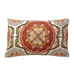 Image of Mandala Embroidered Pillow