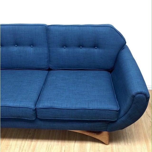 Mid Century Style Sofa: Custom Mid Century Style Sofa