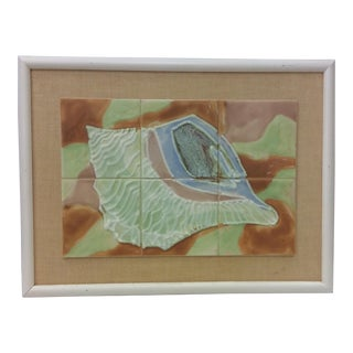 Harris Strong Art Tile Conch Shell