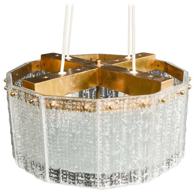 Carl Fagerlund for Orrefors Chandelier - Image 1 of 8