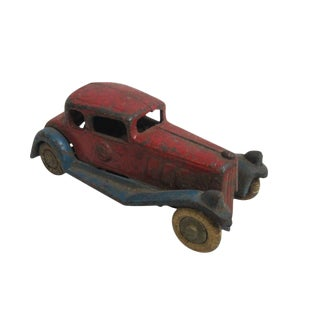 Antique Barclay Hubley Arcade Mfg Co. Cast Iron Coupe Toy