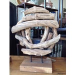 Image of Teak Rustic Style Sculpture
