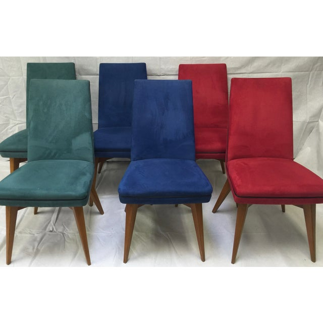 Mid-Century Erton Dining Chairs - Set of 6 - Image 2 of 9