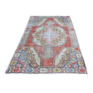 "Turkish Bohemian Anatolian Floor Carpet - 55"" x 86"""