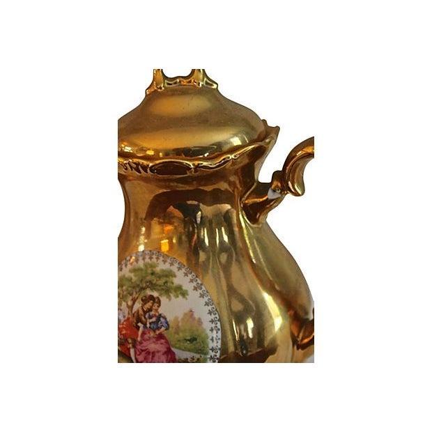 Image of Bavarian 22kt Waldershof Tea Set