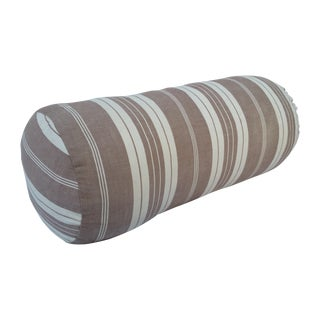 French Ticking Neck Pillow