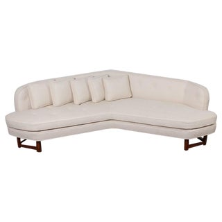 Large Angle Sofa by Edward Wormley for Dunbar