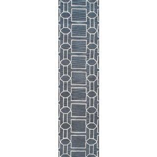 """Pasargad Transitiona Vsilk & Wool Runner - 2' 6"""" X 10'"""