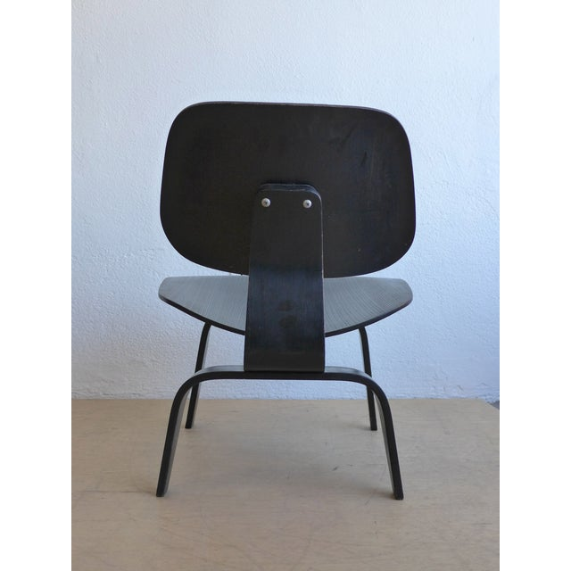 """Eames """"Lounge Chair Wood"""" Chair - Image 5 of 10"""