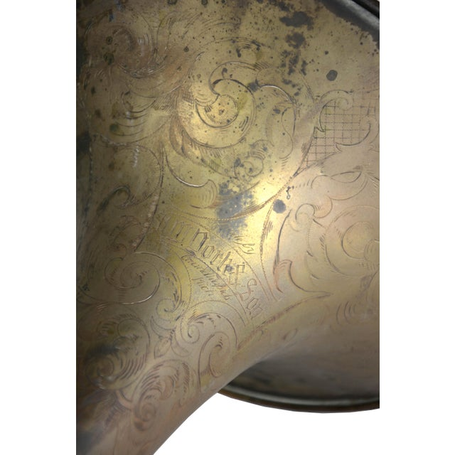 Antique French Horn - Image 3 of 3